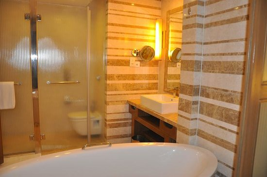 Crowne Plaza Today New Delhi Okhla:                   Bathroom
