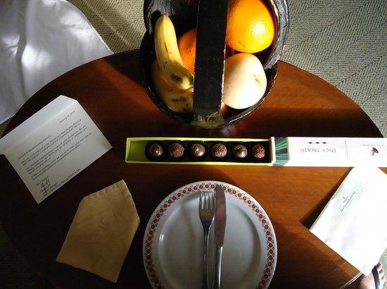 Shangri-La's Rasa Sayang Resort & Spa: Honeymooner amenities