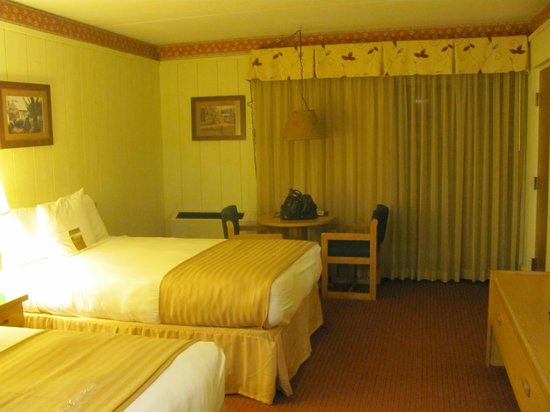 Salt Fork Lodge and Conference Center :                   Our room