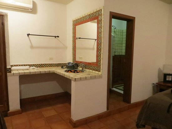 Cabo Cush Hotel : Wash basin