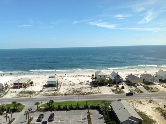 Sanibel Gulf Shores :                   view from 1201
