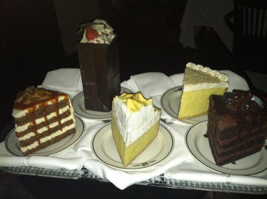 Truluck's Seafood - Austin Downtown: Show of available desert