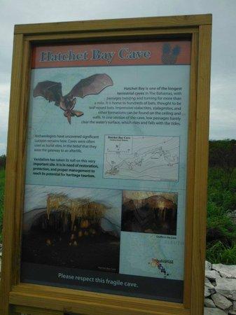 Hatchet Bay Cave: Description of cave