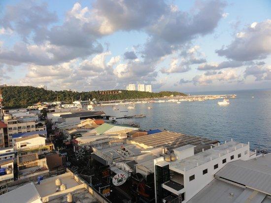 Grand Hotel Pattaya: ベランダからの眺め