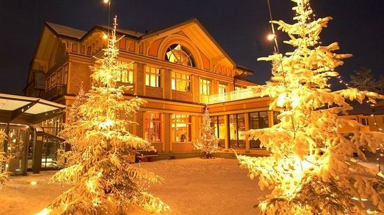 Hotel UTO KULM: Winter winderland
