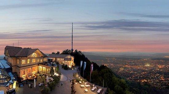 Hotel UTO KULM: View