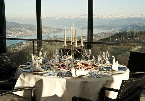 Hotel UTO KULM: Restaurant