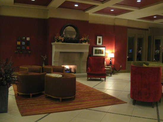Lansdowne Resort:                   Another fireplace nook