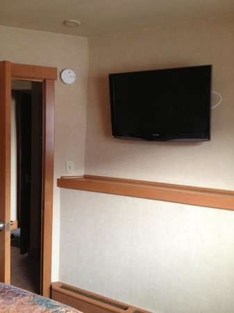 Hidden Ridge Resort: TV in bedroom