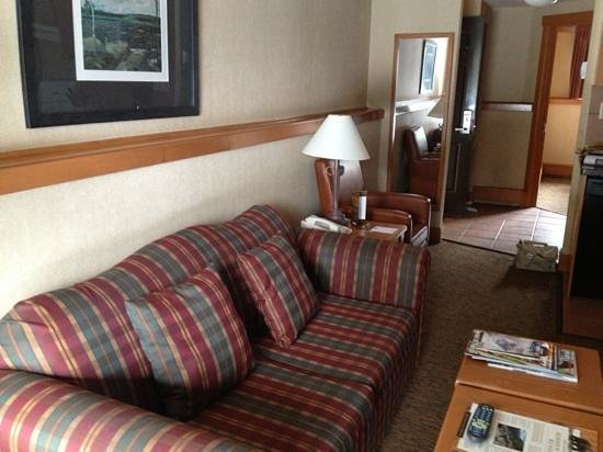 Hidden Ridge Resort: hide a way sofa bed