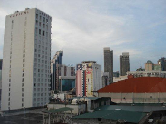 Melia Kuala Lumpur: View from the window.