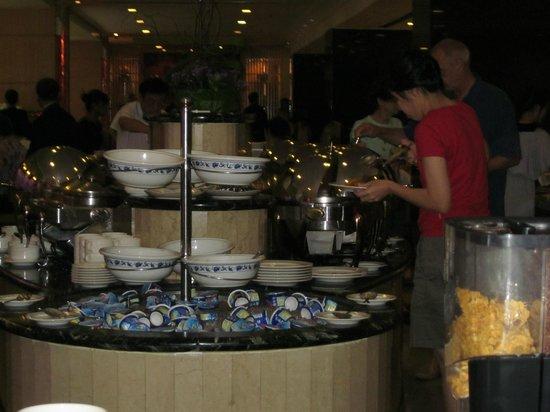 Melia Kuala Lumpur: The buffet area.