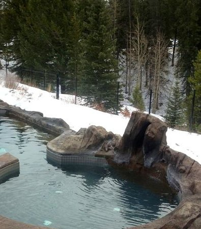 Hidden Ridge Resort: hot tub