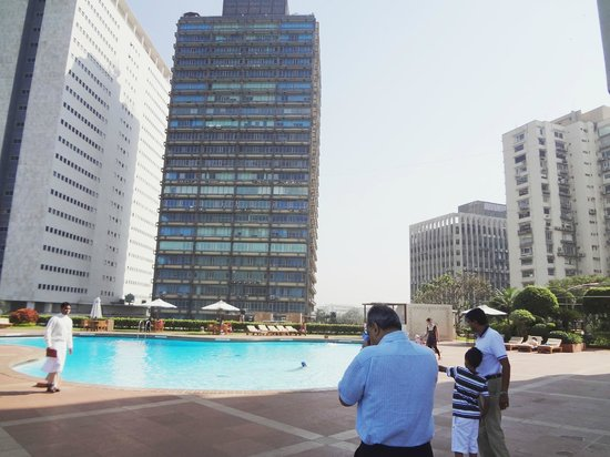 Trident, Nariman Point :                   Pool Area