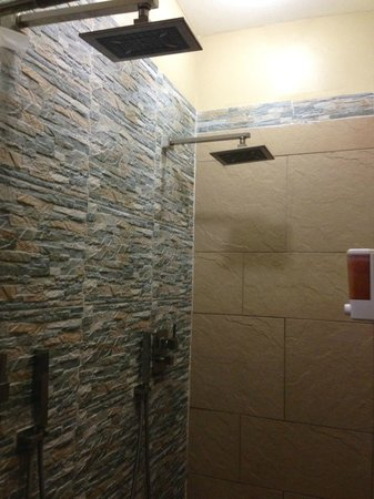 Coqui del Mar Guest House:                   Double shower in La Concha suite