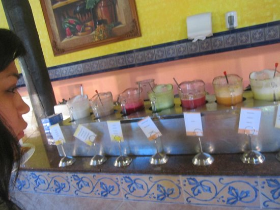 Hotel Riu Lupita: jugos desayuno
