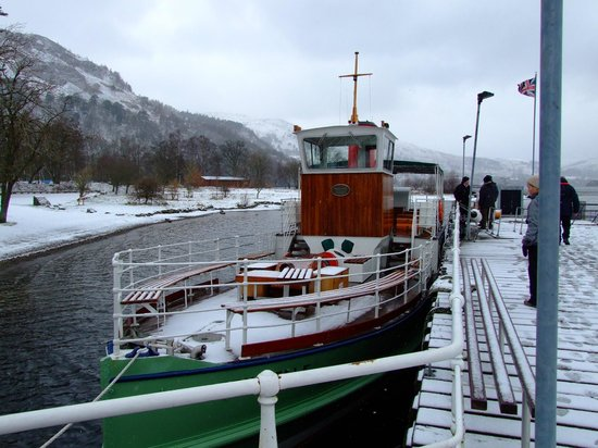 Inn on the Lake:                   Ullswater steamers