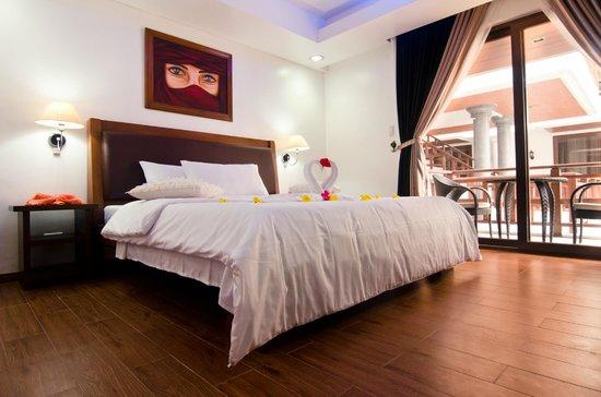 Giulius Boracay Italian Resort : deluxe room