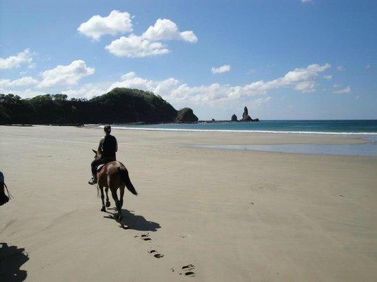 Mango Rosa Nicaragua:                   Beach ride