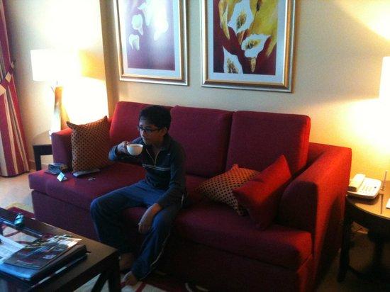 Marriott Executive Apartments Manama, Bahrain:                   living