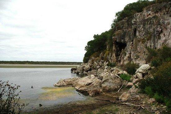De Hoop Nature Reserve:                   in Tierhoek eine Stelle an der Lagune im DeHoop Marine Reserve