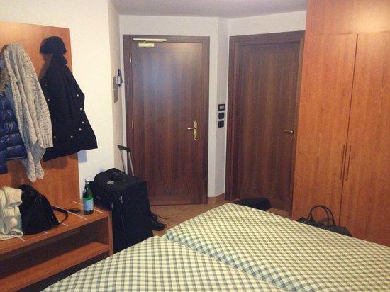 Hotel Al Piolet:                   tiny room