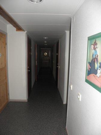 Vimmerby Vandrarhem: korridör