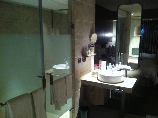 Palais de Chine Hotel: Washroom and shower room