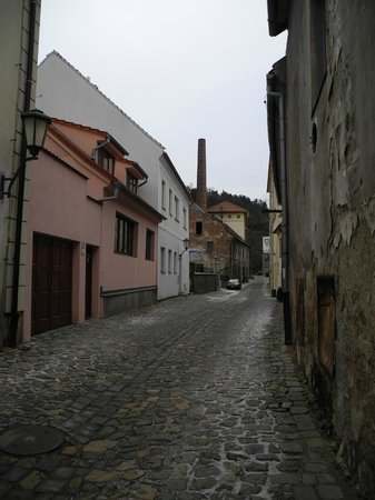 The Jewish Quarter and St Procopius' Basilica in Trebic: The Jewish Quarter in Trebic 1