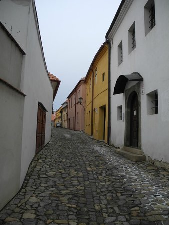 The Jewish Quarter and St Procopius' Basilica in Trebic: The Jewish Quarter in Trebic 2