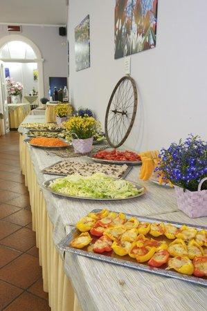 Hotel Pesce d'Oro: buffet