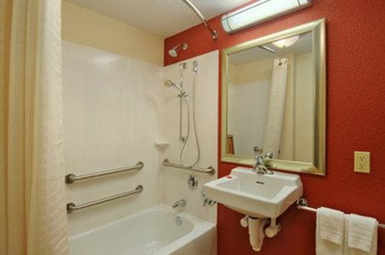 Red Roof Inn Minneapolis Plymouth: ADA Bathroom