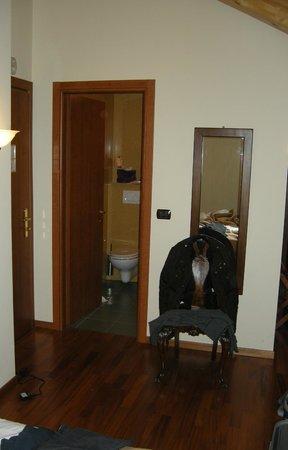Liberty Hotel: Camera quadrupla con parquet