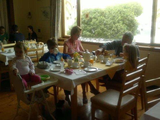 Prinzessin Rupprecht Residenz:                                     Frühstücks Raum