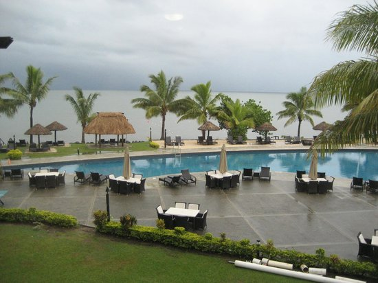 Wyndham Resort Denarau Island:                   Unobstructed view of pool and beach from the balcony