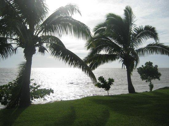 Wyndham Resort Denarau Island:                   Ocean from the grounds                 