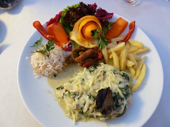 PH Hotel:                   Presentation of meals