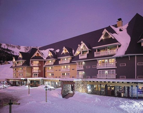 Schweitzer Mountain Resort Lodging: Exterior view