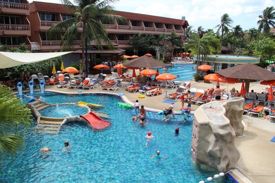 Phuket Orchid Resort:                   Kids Pool Area