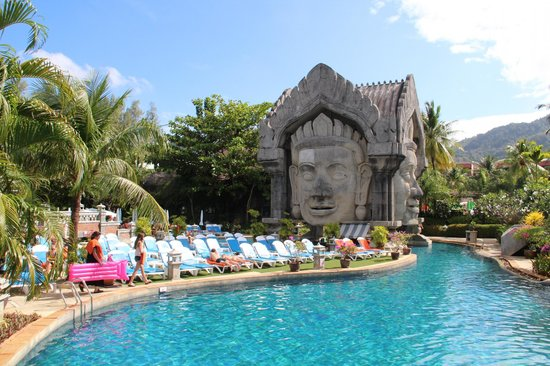 Phuket Orchid Resort & Spa:                   Main Pool Area
