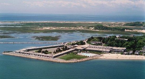 Provincetown Inn Resort & Conference Center: Ariel view