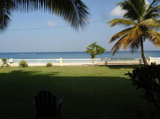 Radisson Grenada Beach Resort: View of Grand Anse Beach from my suite