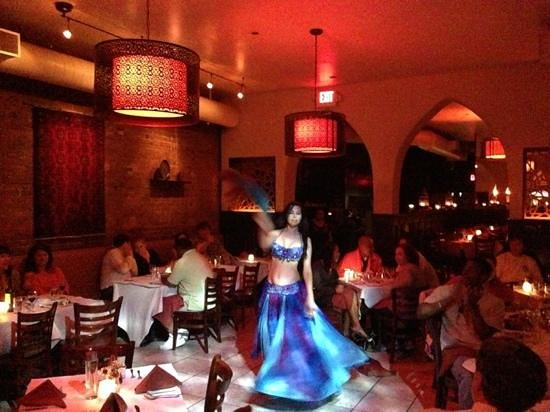 belly dancer at Pamir. amazing.