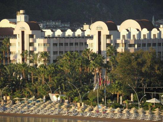 Otel Aqua: Вид на отель