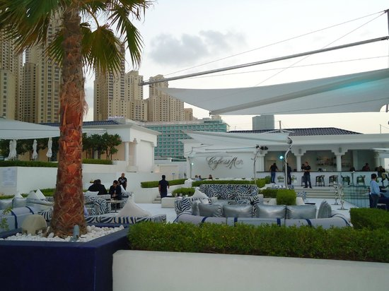 The Meydan Hotel:                   Cafe del Mar at Meydan Beach