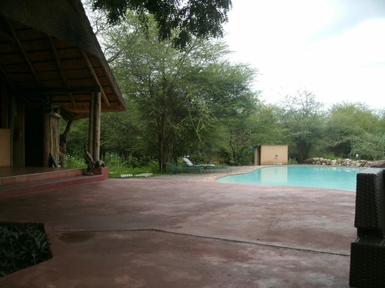 Kwalape Safari Lodge: Bar & Pool