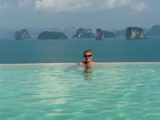 Six Senses Yao Noi:                   Poolen med fantastisk udsigt