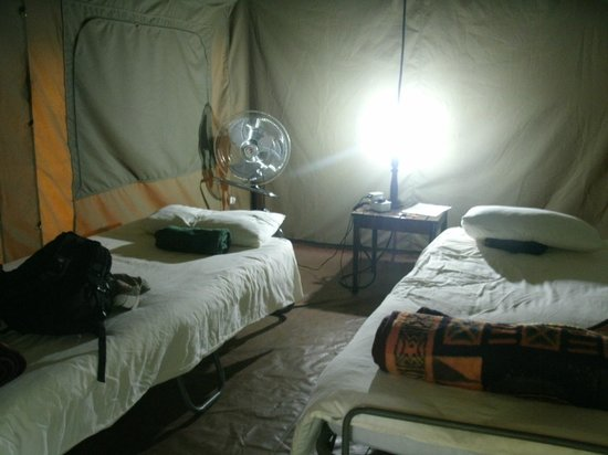 Kwalape Safari Lodge: Inside Tent