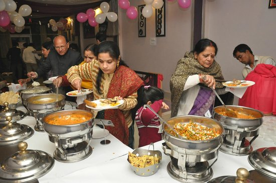 Bollywood Masala: Guests enjoying our delicacies