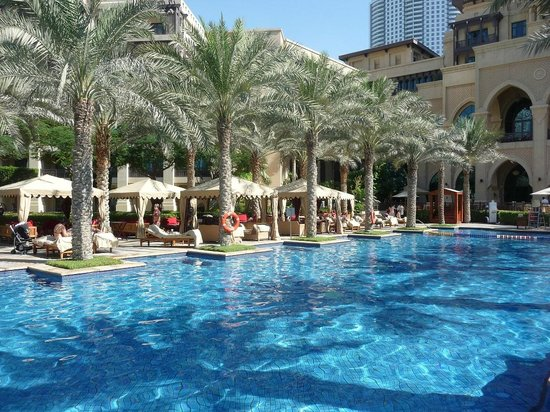 Palace Downtown:                   the Hotel pool